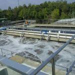 Thi công bể xử lý nước thải
