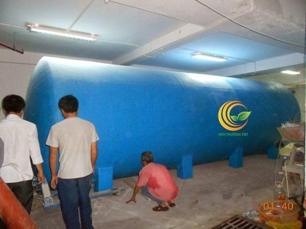 Lắp đặt xử lý nước thải khách sạn tại Bắc Ninh