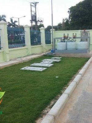 Trạm xử lý nước thải tại Bắc Ninh