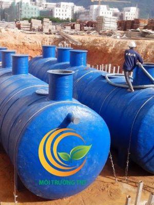 Hệ thống xử lý nước thải tòa nhà chung cư.