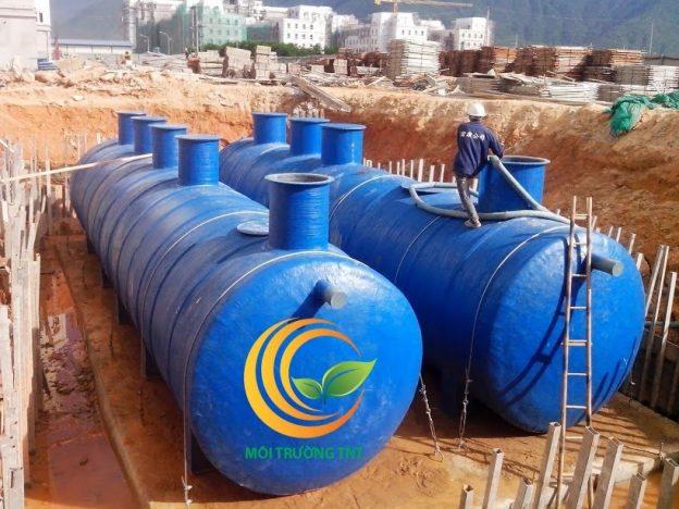 Modul xử lý nước thải chung cư cao tầng