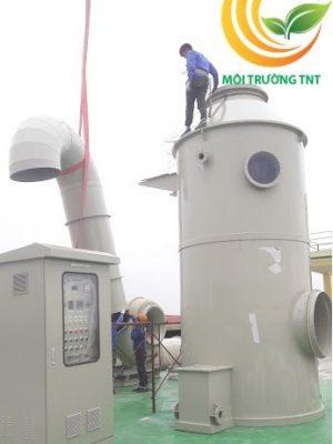 Xử lý khí thải axits