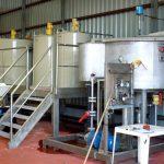 Bể xử lý nước thải mạ crom