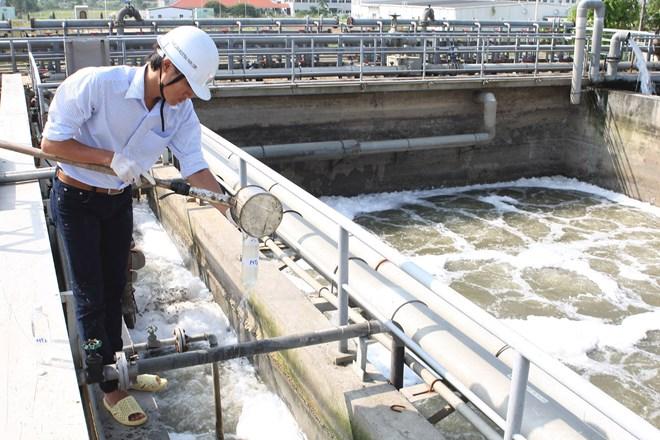 Trạm xử lý nước thải khu dân cư