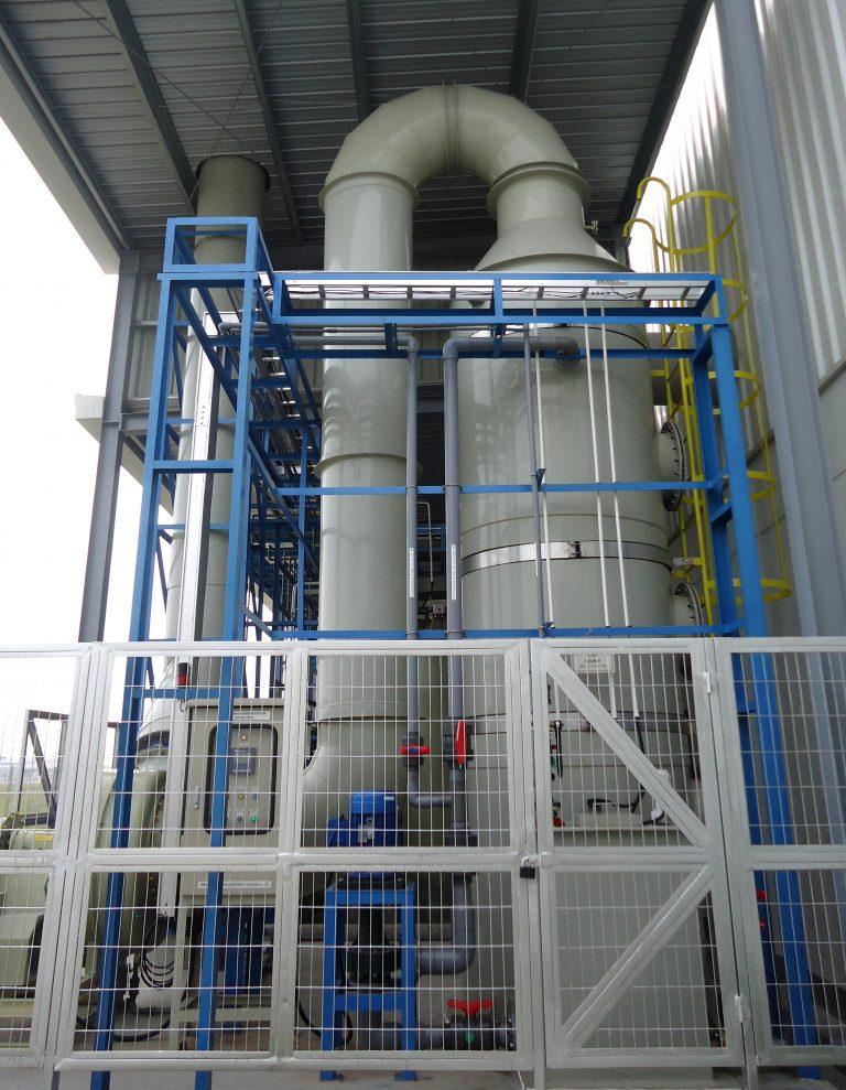xử lý khí thải phòng sơn