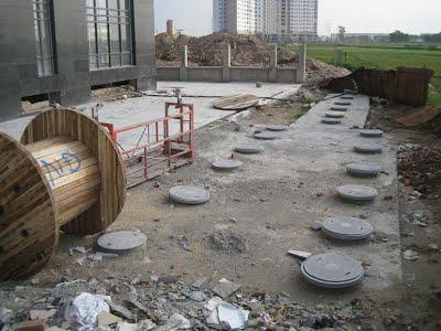 Hệ thống xử lý nước thải chung cư bể đặt ngầm