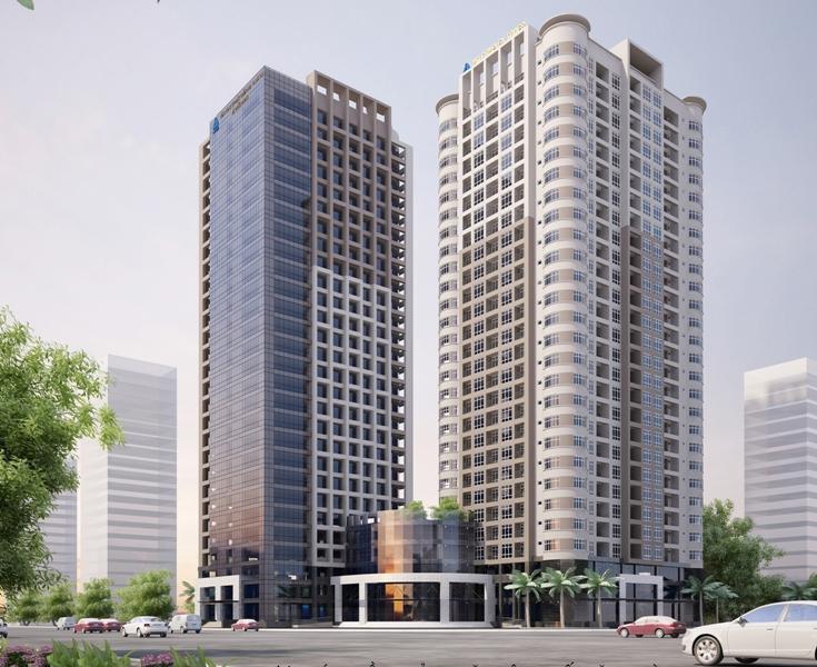 Tòa nhà chung cư cao tầng