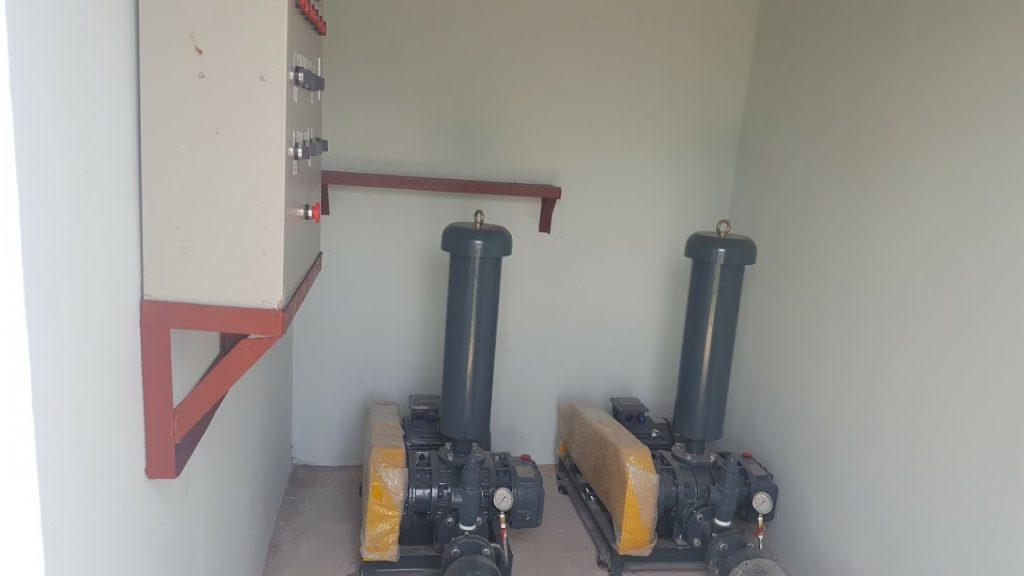 Máy thổi khí trong hệ thống xử lý nước thải