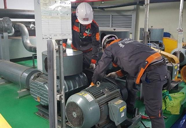 Bảo trì bảo dưỡng máy thổi khí