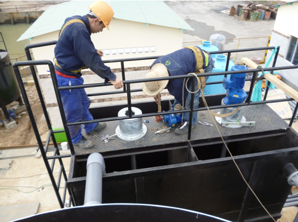 Bảo dưỡng thiết bị xử lý nước thải tại Bắc Ninh