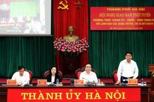 Chủ tịch UBND TP.Hà Nội Nguyễn Đức Chung