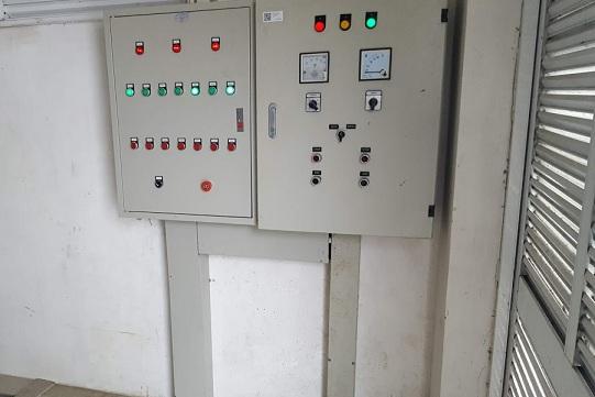 Tủ điện điều khiển hệ thống xử lý nước thải trạm Y tế