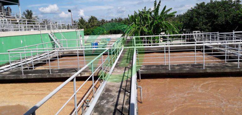 xử lý nước thải chế biến cá tôm