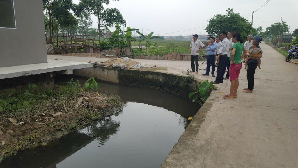 nước thải khu dân cư