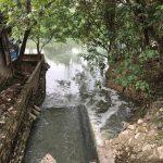 Nước thải chảy trực tiếp vào sông