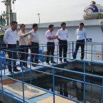 Ban Đô thị HĐND thành phố khảo sát hoạt động Trạm xử lý nước thải tập trung