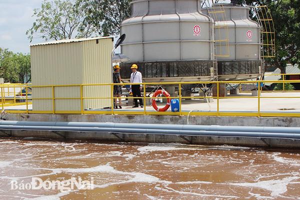 Nhà máy xử lý nước thải công nghiệp tại Đồng Nai
