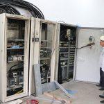 Tủ điện nhà máy xử lý nước thải bị chập cháy