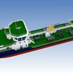 Tàu chở dầu sinh thái thuộc dự án RT-37