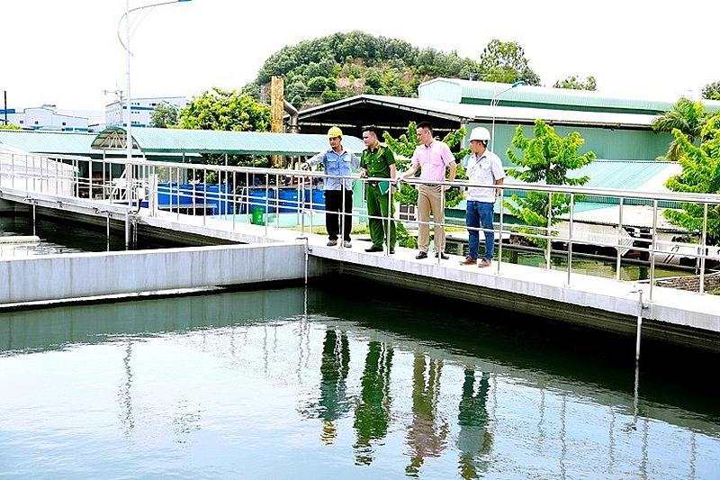 Hệ thống xử lý nước thải KCN Khai Quang